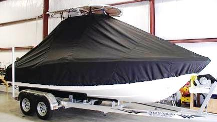 Scout 210SF, 20xx, TTopCovers™ T-Top boat cover side