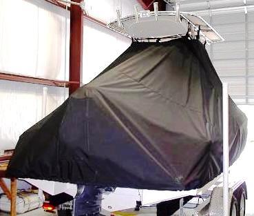 Scout 210XSF, 20xx, TTopCovers™ T-Top boat cover rear