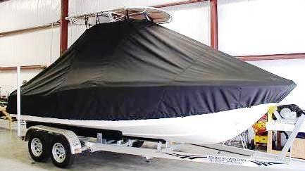 Scout 210XSF, 20xx, TTopCovers™ T-Top boat cover side
