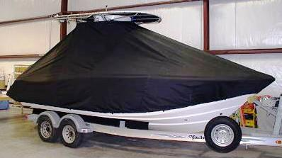 Scout 222SF, 20xx, TTopCovers™ T-Top boat cover side