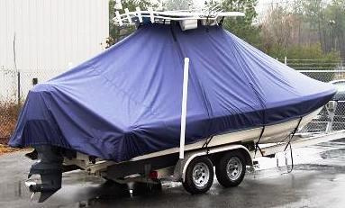 Scout 240 Bay Scout, 20xx, TTopCovers™ T-Top boat cover, starboard rear