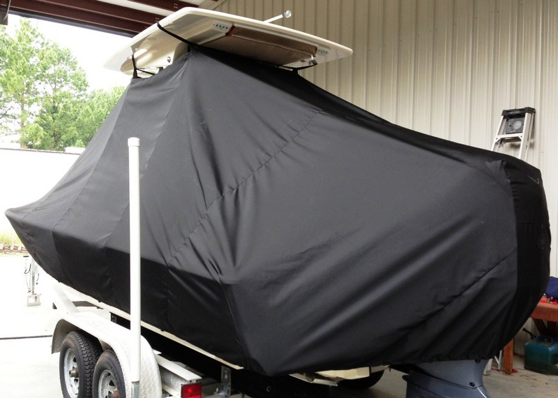 Scout 251 XS, 20xx, TTopCovers™ T-Top boat cover, port rear