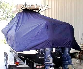 Scout 260 Sportfish, 20xx, TTopCovers™ T-Top boat cover rear