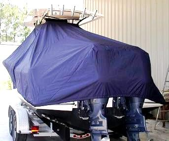 Scout 262 Sportfish, 20xx, TTopCovers™ T-Top boat cover rear