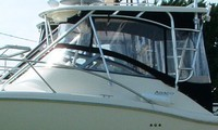 Scout, 280 Abaco, 2006, Hard Top, Connector, Side and Aft Curtains, port rear