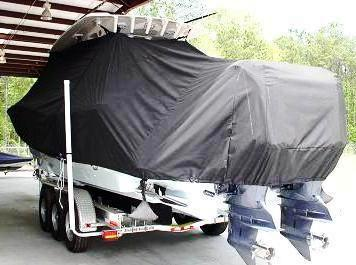 Scout 345 XSF, 20xx, TTopCovers™ T-Top boat cover, port rear