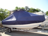 TTopCover™ Sea Boss, 210CC, 20xx, T-Top Boat Cover, stbd front