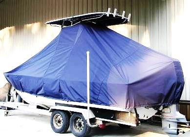 Sea Craft, 20cc, 20xx, TTopCovers™ T-Top boat cover, port rear