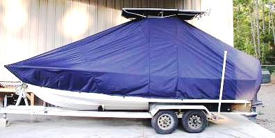 Sea Craft, 20cc, 20xx, TTopCovers™ T-Top boat cover, port side