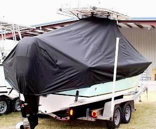 Sea Craft 23cc, 20xx, TTopCovers™ T-Top boat cover, starboard rear