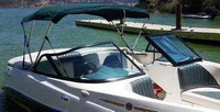 Photo of Sea Doo UTopia 185, 2001: Bimini Top, viewed from Starboard Front