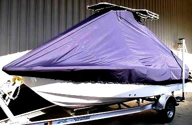Sea Fox 180 Viper, 20xx, TTopCovers™ T-Top boat cover, port front