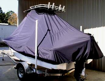 Sea Fox 180 Viper, 20xx, TTopCovers™ T-Top boat cover, port rear
