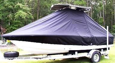 Sea Fox, 200XT, 20xx, TTopCovers™ T-Top boat cover, port front