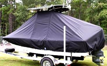 Sea Fox, 200XT, 20xx, TTopCovers™ T-Top boat cover, port rear
