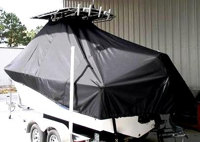 Sea Fox, 206CC, 20xx, TTopCovers™ T-Top boat cover, port rear