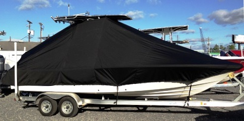 Sea Fox 220 Viper, 20xx, TTopCovers™ T-Top boat cover, starboard side