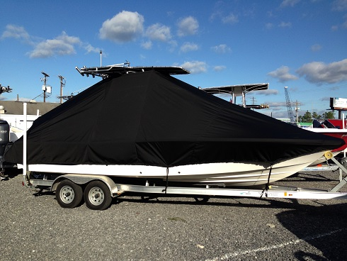 Sea Fox 220XT Pro, 20xx, TTopCovers™ T-Top boat cover, starboard side