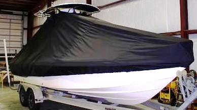 Sea Fox 225 Bay Fisher, 20xx, TTopCovers™ T-Top boat cover, starboard front