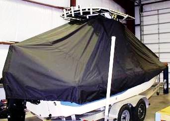 Sea Fox 225 Bay Fisher, 20xx, TTopCovers™ T-Top boat cover, starboard rear