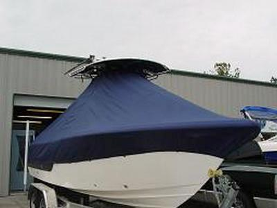Sea Fox 236CC, 20xx, TTopCovers™ T-Top boat cover 456 Front