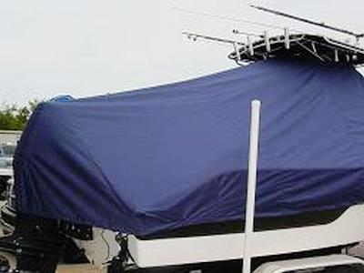 Sea Fox 236CC, 20xx, TTopCovers™ T-Top boat cover 456 Rear
