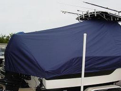 Sea Fox 236CC, 20xx, TTopCovers™ T-Top boat cover 456 Rear 400x300