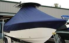 Sea Fox 236CC, 20xx, TTopCovers™ T-Top boat cover, port front