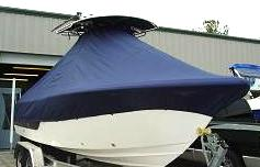 Sea Fox 236CC, 20xx, TTopCovers™ T-Top boat cover, starboard front