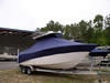 Sea Fox 256CC, 2010, TTopCovers™ T-Top boat cover 460 Front 100x75