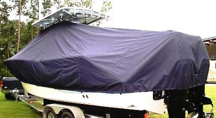 Sea Fox 286CC Commander, 20xx, TTopCovers™ T-Top boat cover, port rear