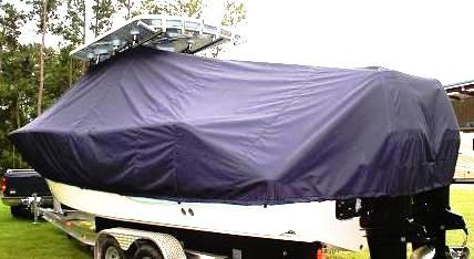 Sea Fox 287CC, 20xx, TTopCovers™ T-Top boat cover, port rear