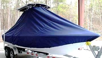 Sea Hunt BX24, 20xx, TTopCovers™ T-Top boat cover, starboard front
