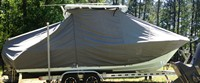 Photo of Sea Hunt® Edge 24 20xx T-Top Boat-Cover, viewed from Starboard Side