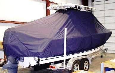 Sea Hunt Gamefish 24, 20xx, TTopCovers™ T-Top boat cover, starboard rear