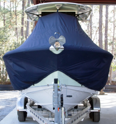 Sea Hunt Gamefish 25, 20xx, TTopCovers™ T-Top boat cover Front