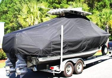 Sea Hunt Gamefish 25, 20xx, TTopCovers™ T-Top boat cover Rear