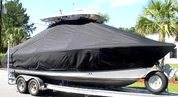 Sea Hunt Gamefish 25, 20xx, TTopCovers™ T-Top boat cover, starboard front