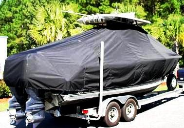 Sea Hunt Gamefish 25, 20xx, TTopCovers™ T-Top boat cover, starboard rear