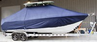 Photo of Sea Hunt® Gamefish-25 20xx T-Top Boat-Cover, viewed from Starboard Side