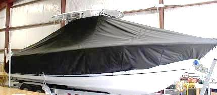 Sea Hunt Gamefish 26, 20xx, TTopCovers™ T-Top boat cover, starboard side