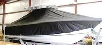 Photo of Sea Hunt® Gamefish-26 20xx T-Top Boat-Cover, viewed from Starboard Side