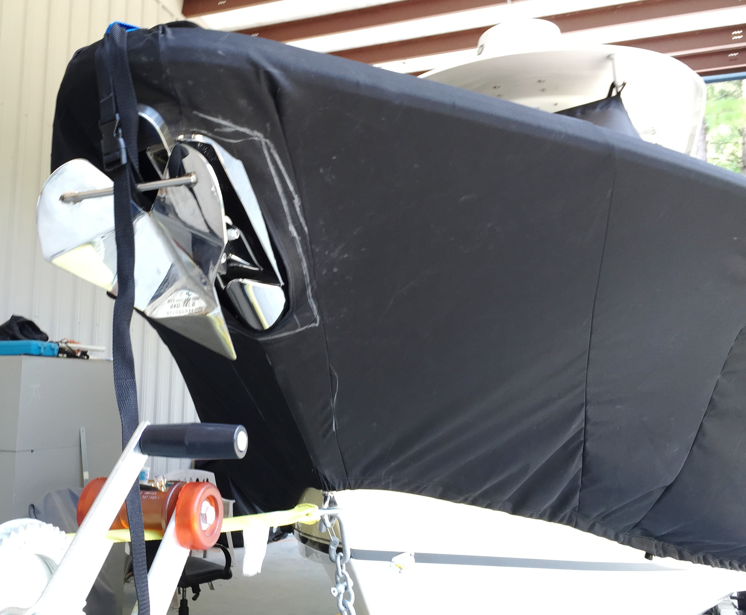 Sea Hunt Gamefish 27, 20xx, TTopCovers™ T-Top boat cover Bow Anchor