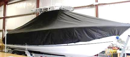 Sea Hunt Gamefish 27, 20xx, TTopCovers™ T-Top boat cover, starboard side