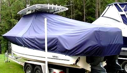 Sea Hunt Gamefish 29, 20xx, TTopCovers™ T-Top boat cover, port rear