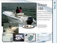 Photo of Sea Hunt® Triton-186, 2007: Brochure Page