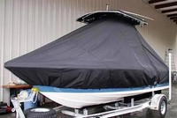 Photo of Sea Hunt® Triton-186 20xx T-Top Boat-Cover, viewed from Port Front