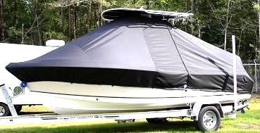Sea Hunt Ultra 210, 20xx, TTopCovers™ T-Top boat cover, port side