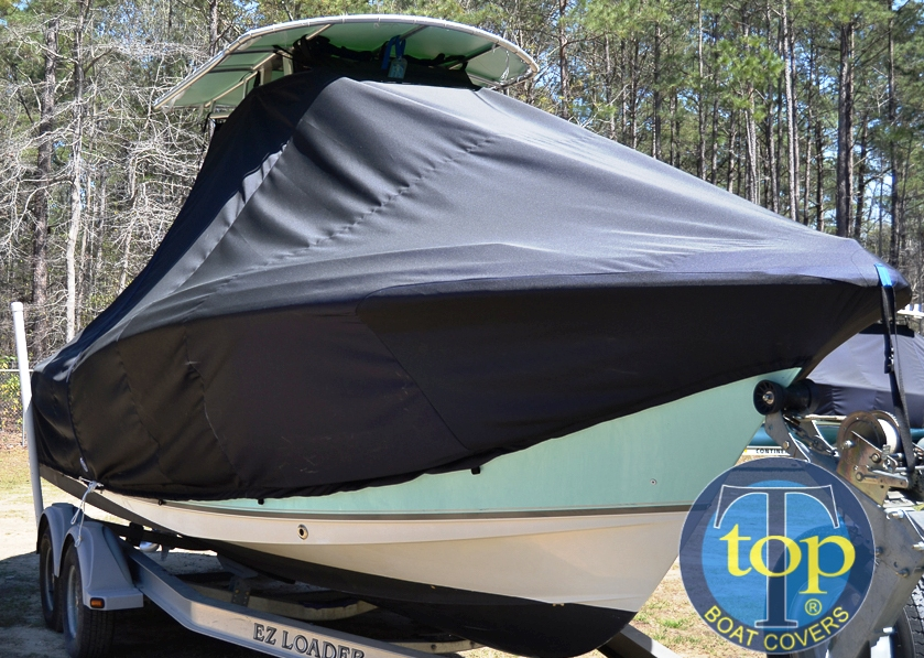 Sea Hunt Ultra 232, 20xx, TTopCovers™ T-Top boat cover, starboard front