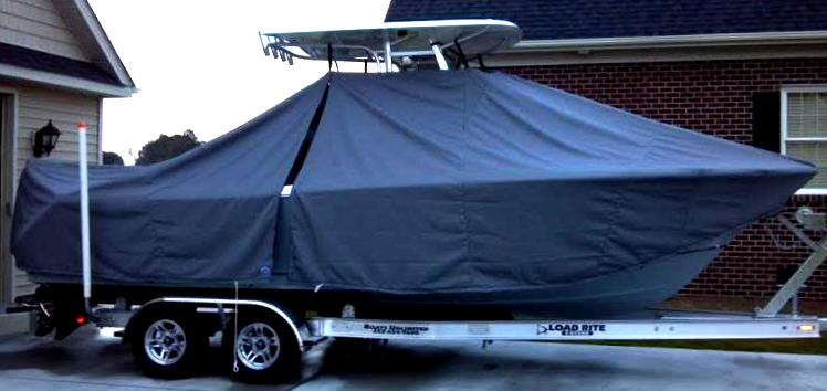 Sea Hunt Ultra 234, 2013, TTopCovers™ T-Top boat cover, starboard side